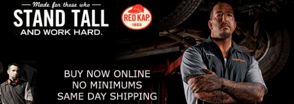 Red Kap Shirts - Buy Online - No Minimums - Stellar Apparel